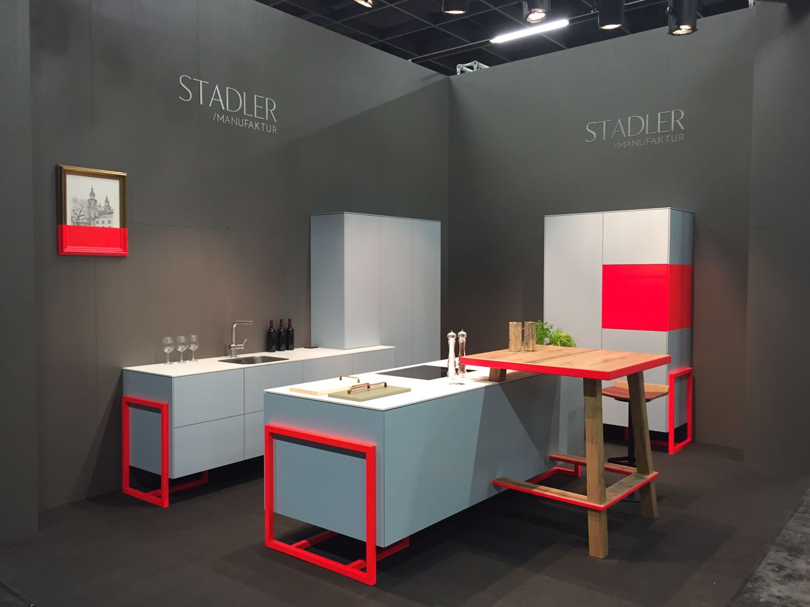 Messeküche imm cologne LivingKitchen 2017